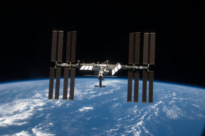 ISS por STS119