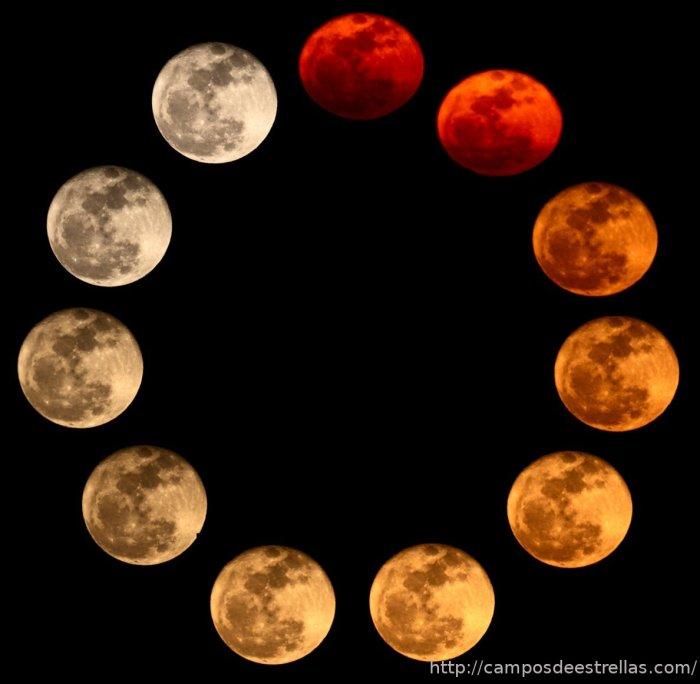 Colores salida Luna 20-03-2011