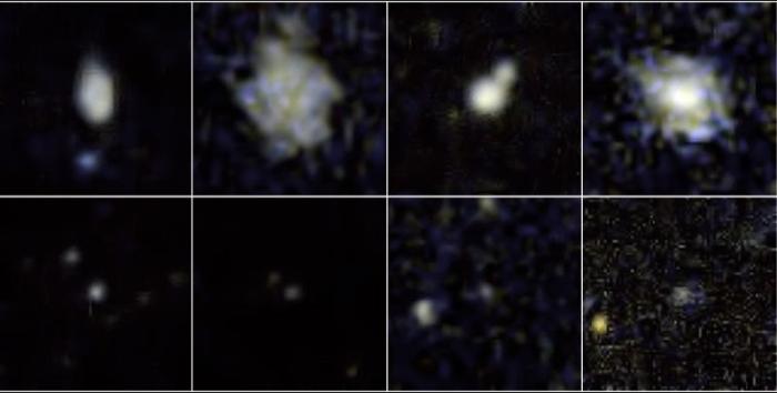 Galaxias enanas, Galex