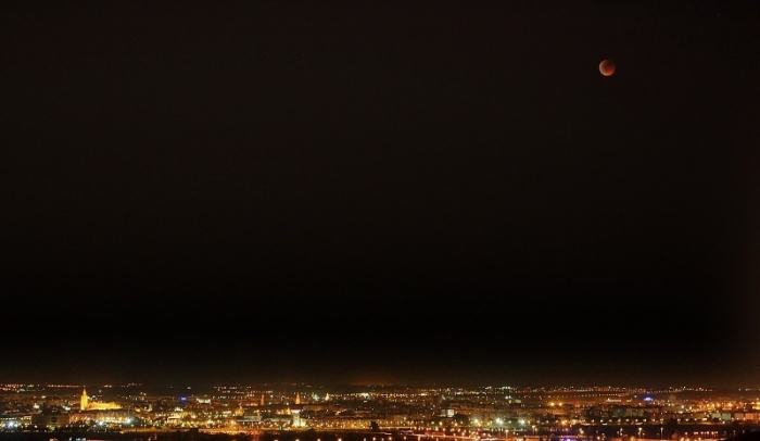 Eclipse de Luna, Sevilla 15-06-2011