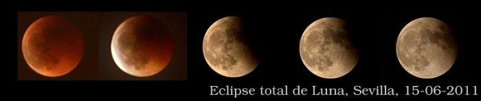 Fases del eclipse de Luna, 15-06-2011