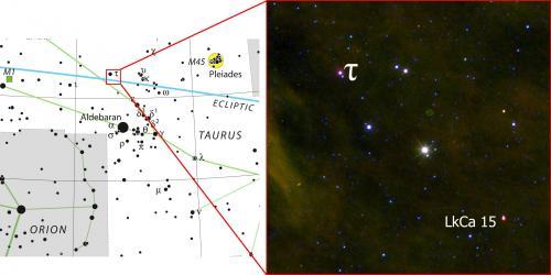 LkCa15b en Taurus