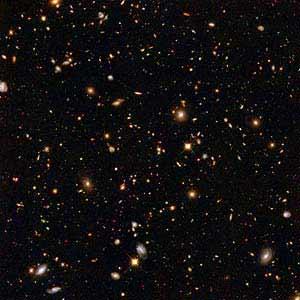 Hubble, campo ultraprofundo