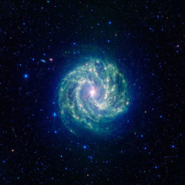 M83, Spitzer