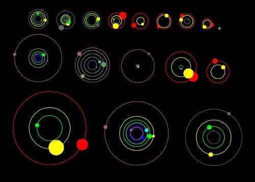 Kepler, 11 nuevos sistemas planetarios