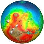 Marte, Oceanus Borealis