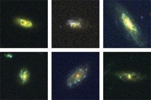 Galaxias que reciclan su materia