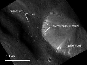 Materiales brillantes de Vesta