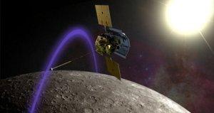 Messenger orbitando Mercurio