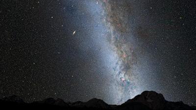 M31 y Vía Láctea en el presente