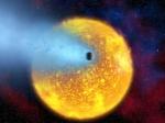 Exoplaneta vaporizado