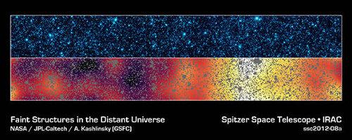 Spitzer, fondo cósmico infrarrojo