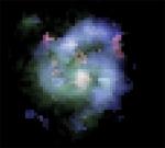 Galaxia espiral en el Universo primitivo