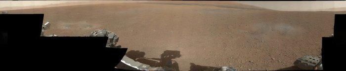 Panoramica en color de Curiosity